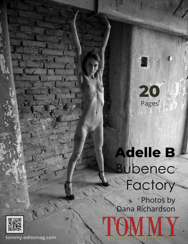Back cover Adelle B - Bubenec Factory