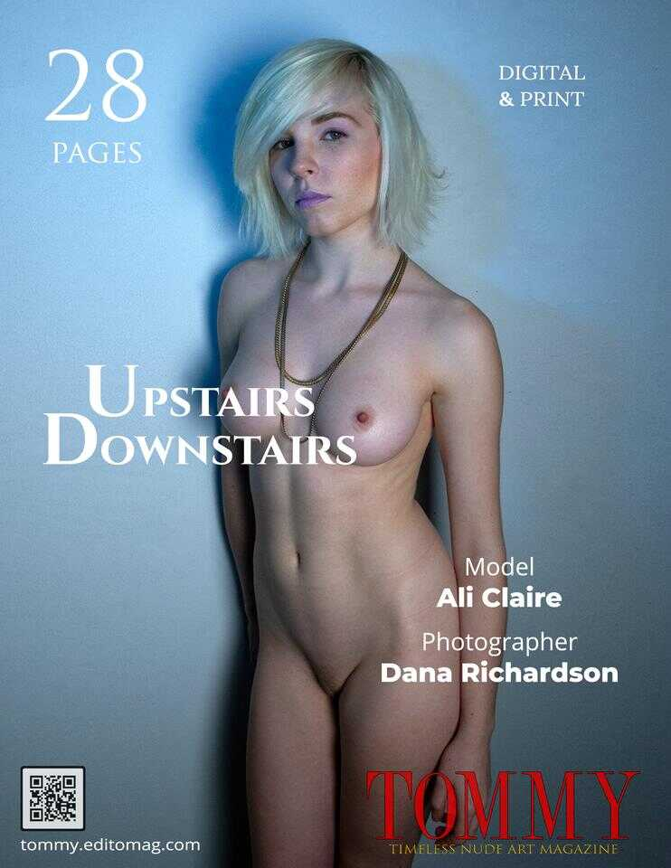 Back cover Ali Claire - Upstairs Downstairs
