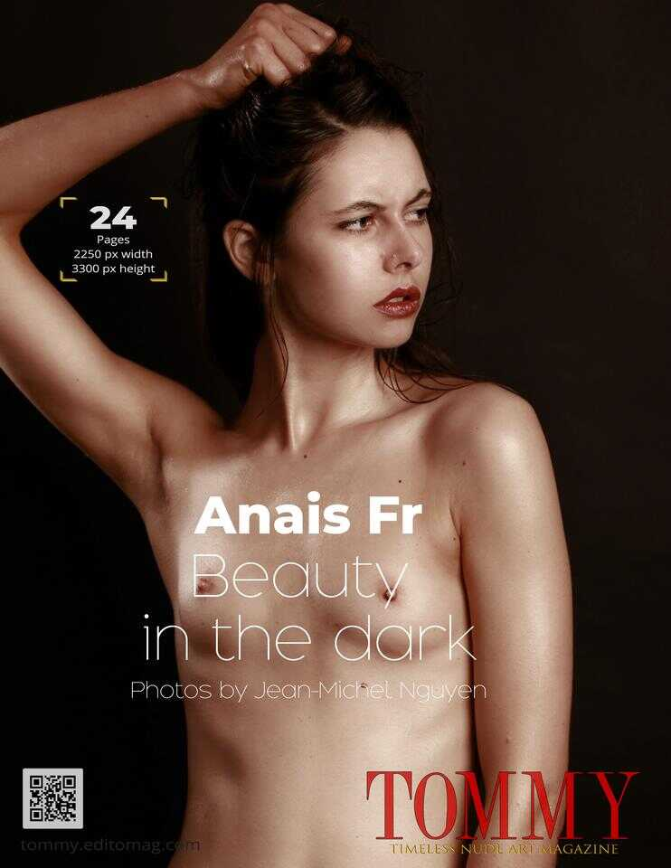 Back cover Anais Fr - Beauty in the dark