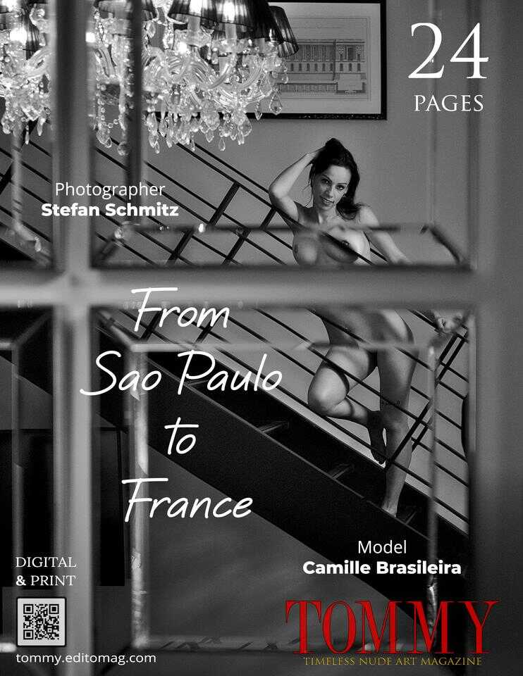 Back cover Camille Brasileira - From Sao Paulo to France
