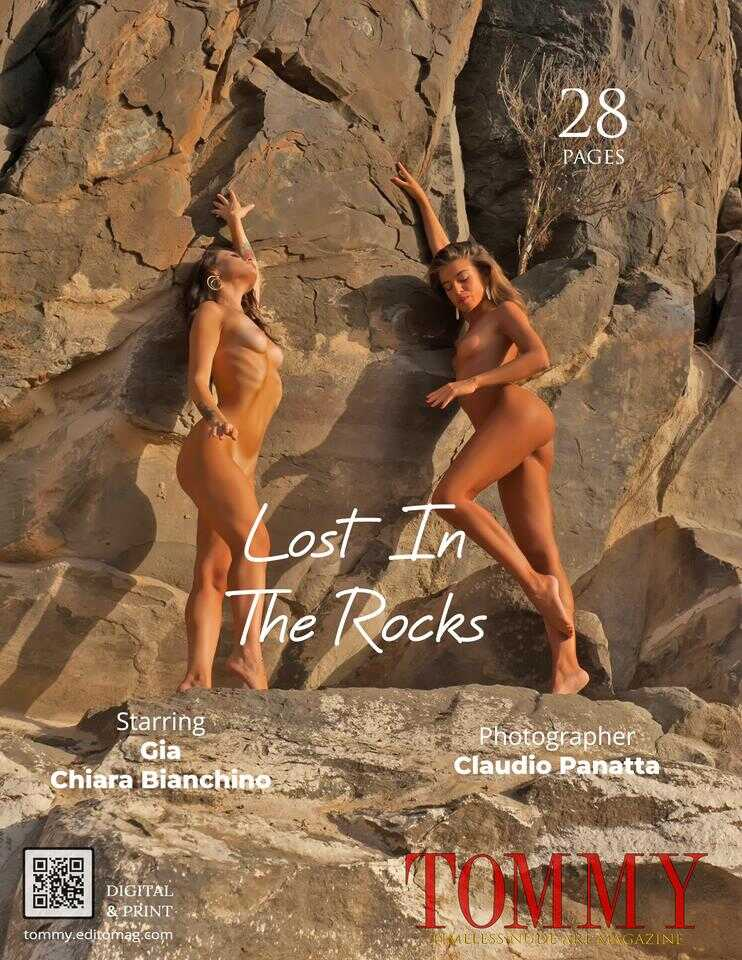 Back cover Chiara Bianchino, Gia - Lost In The Rocks