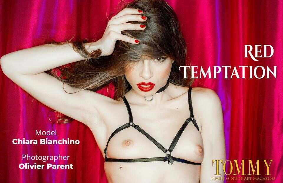 Tommy Nude Art - Chiara Bianchino - Red Temptation - Olivier Parent