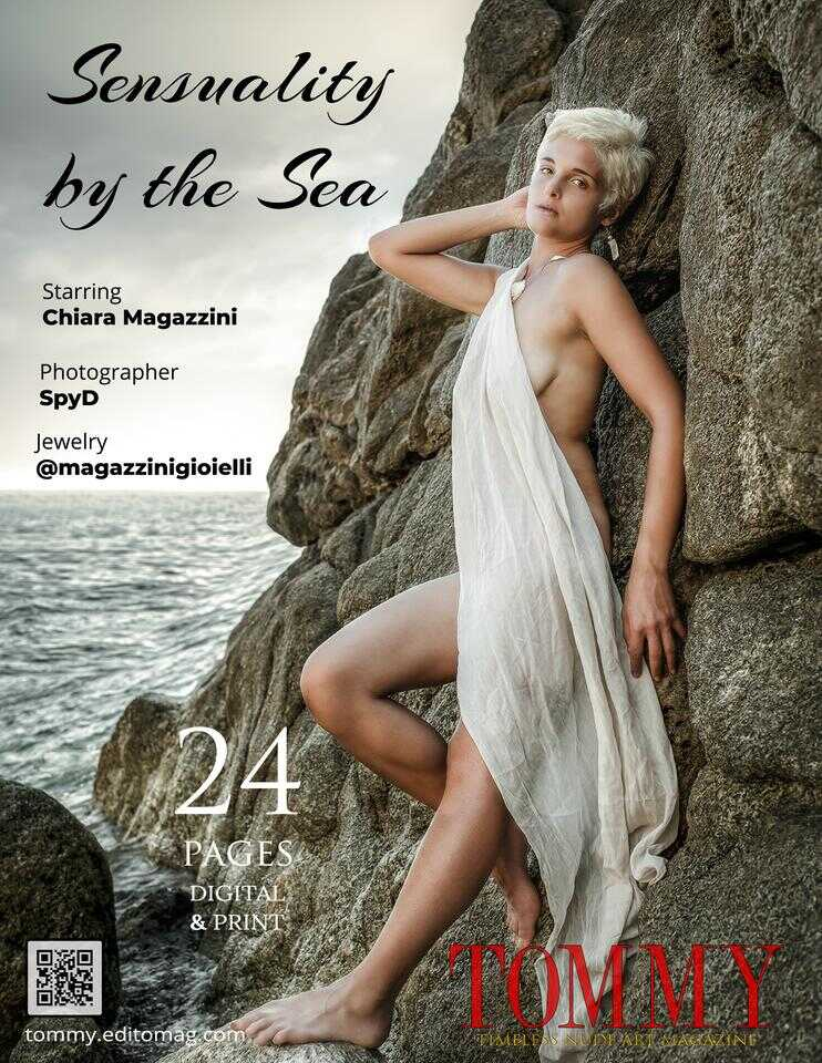 Back cover SpyD - Sensuality by the Sea
