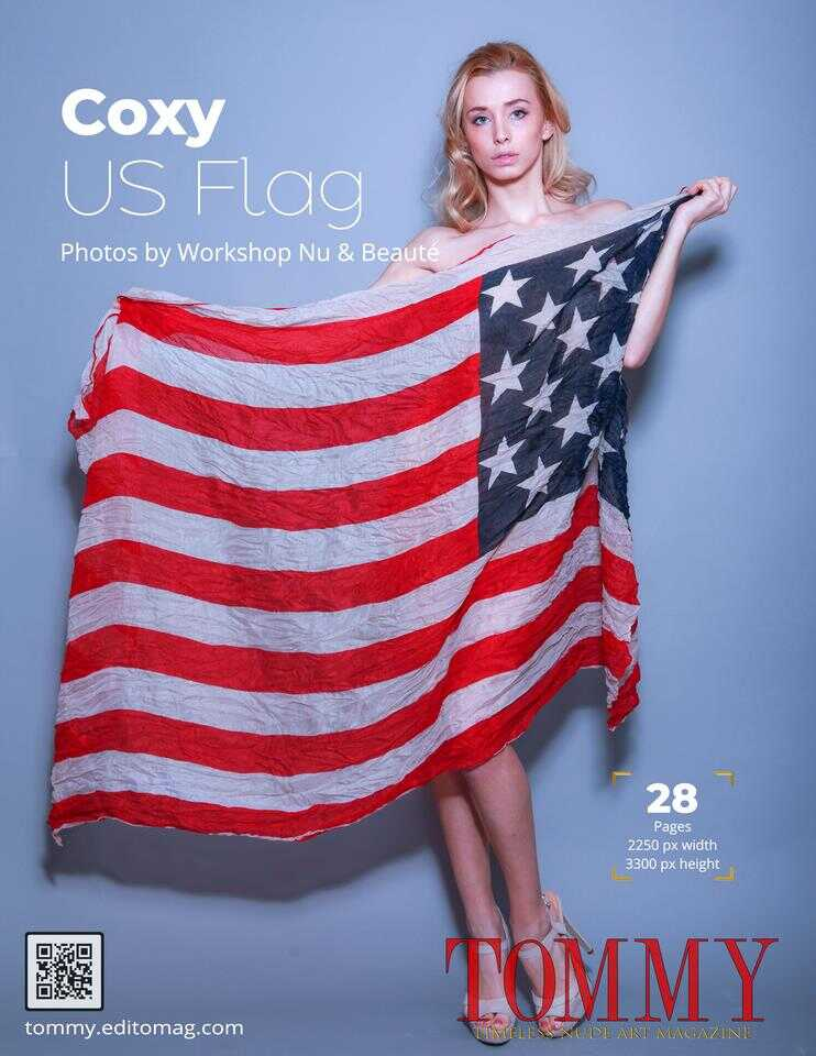 Back cover Coxy Dominika - US FLag