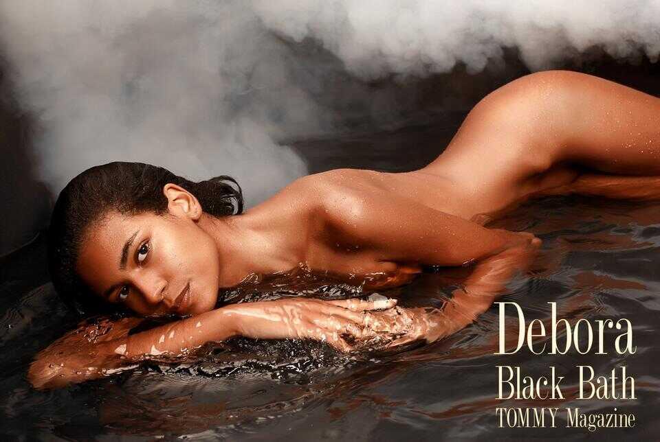 debora.black.bath.poster.a poster