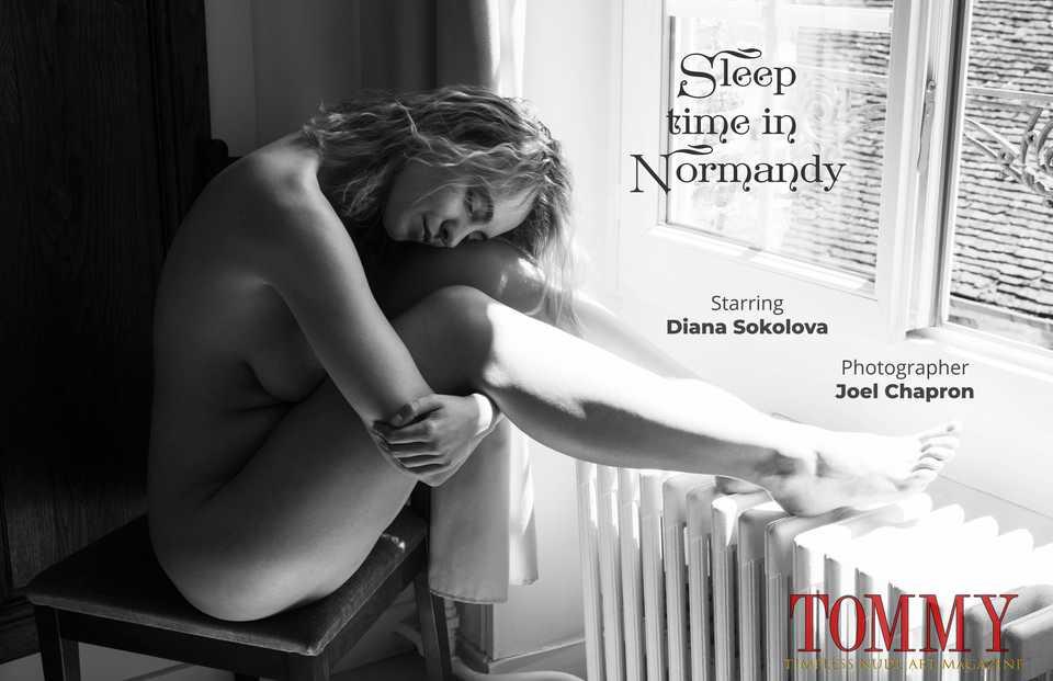 diana.sokolova.sleep.time.in.normandy.joel.chapron