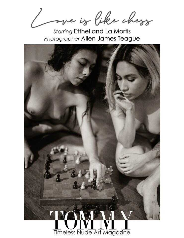 Etthel,La Mortis  .  Love is like chess - 2nd page