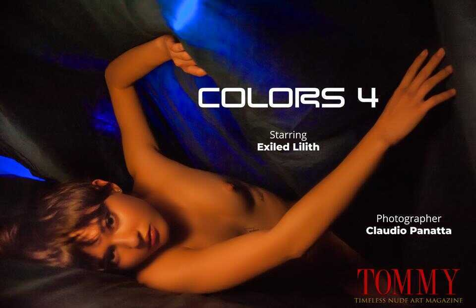 Tommy Nude Art - Exiled Lilith - Colors 4 - Claudio Panatta