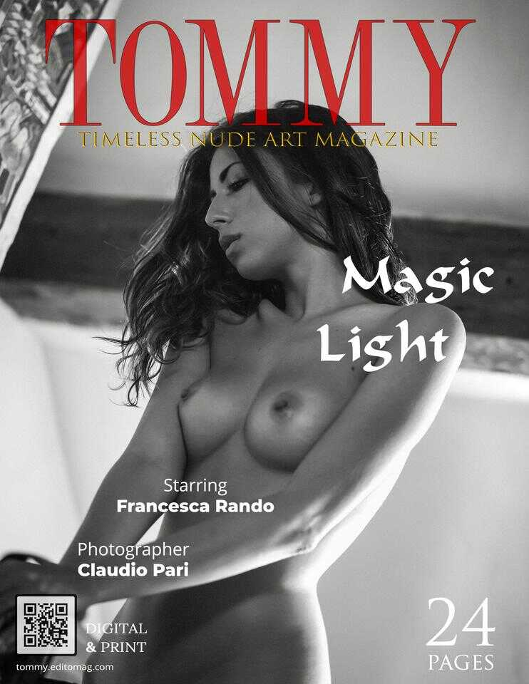 Tommy Nude Art - Black & White