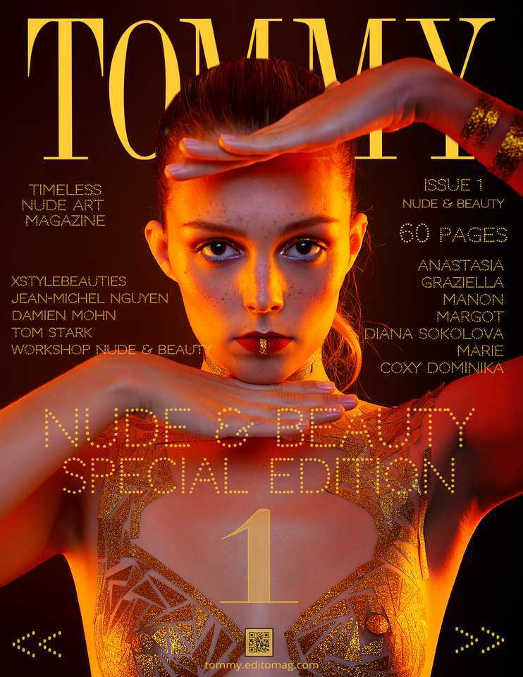 Cover Jean-Michel Nguyen, Damien Mohn, Tom Stark, XStyleBeauties, Workshop Nu et Beauté - Issue 1
