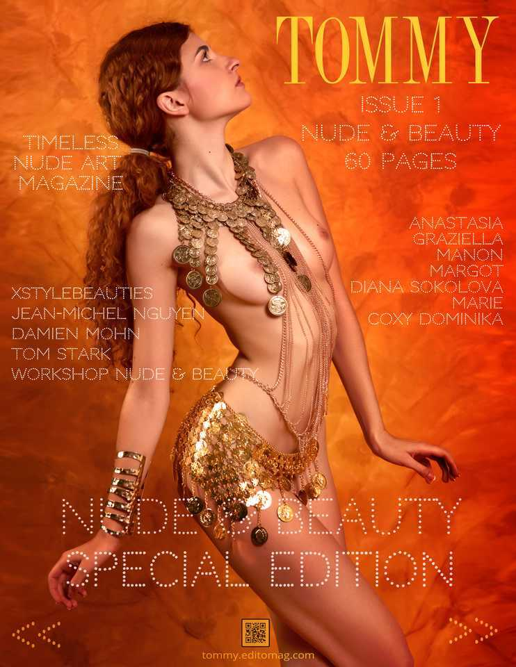 Back cover Jean-Michel Nguyen, Damien Mohn, Tom Stark, XStyleBeauties, Workshop Nu et Beauté - Issue 1
