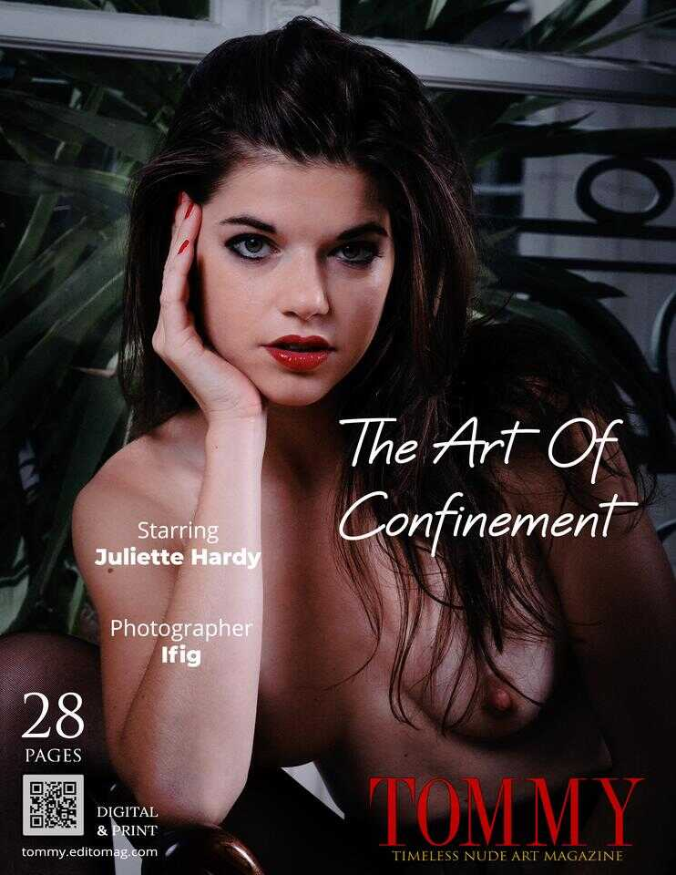 Back cover Juliette Hardy - The Art Of Confinement