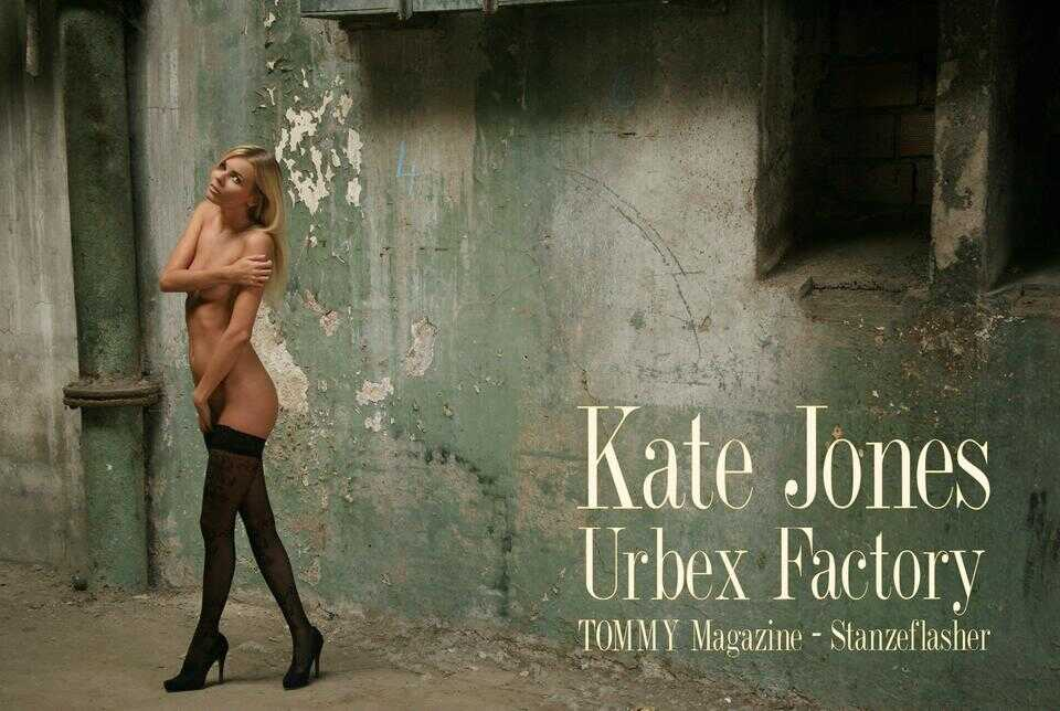 kate.jones.urbex.factory.poster poster