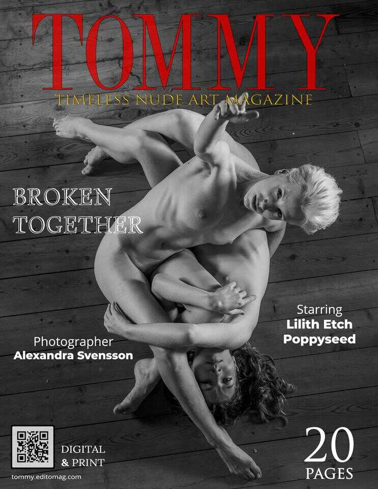 Lilith Etch,Poppy Seed  .  Broken Together - Cover