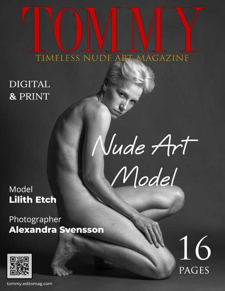Cover Alexandra Svensson - Nude Art Model