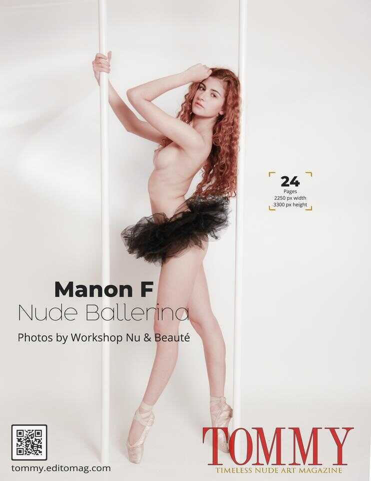 Back cover Manon F - Nude Ballerina