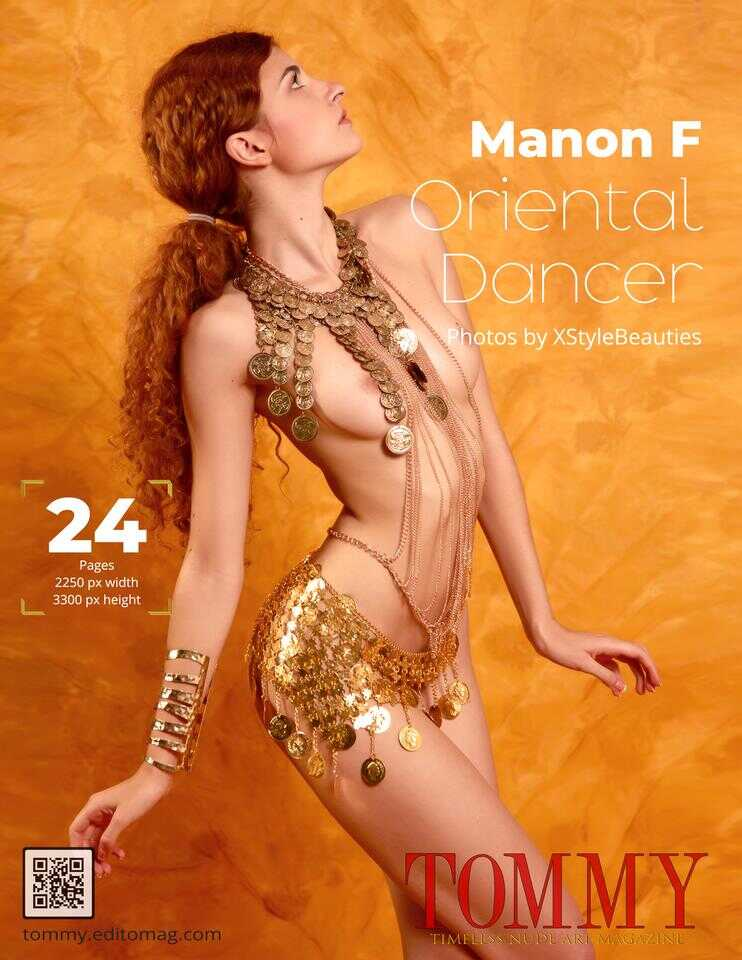 Back cover Manon F - Oriental Dancer