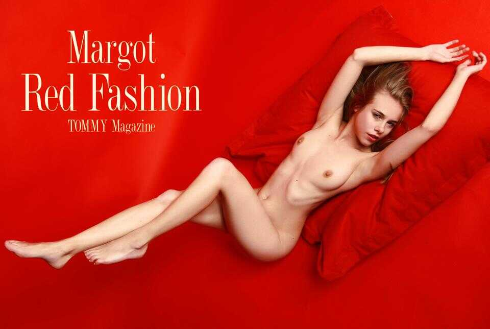 margot.red.fashion.poster poster