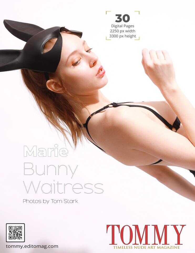 Back cover Marie - Bunny Waitress