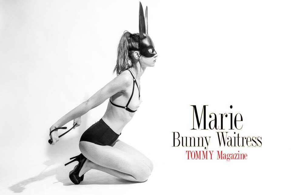 marie.bunny.waitress.poster poster
