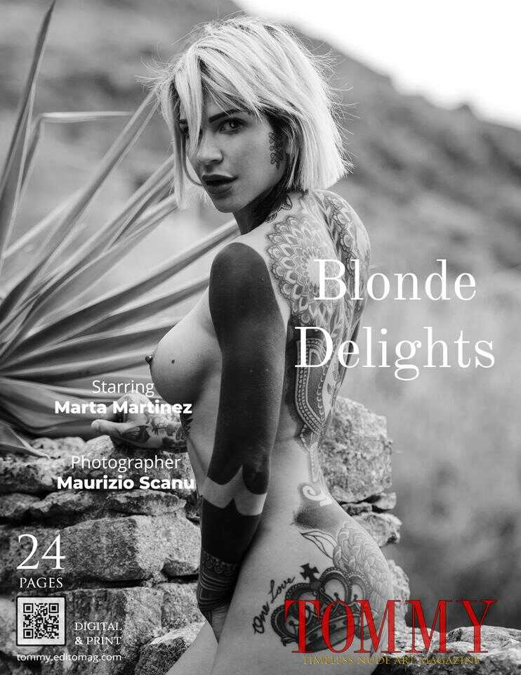 Back cover Marta Martinez - Blonde Delights
