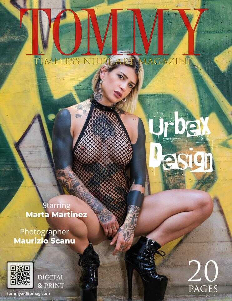 Cover Marta Martinez - Urbex Design