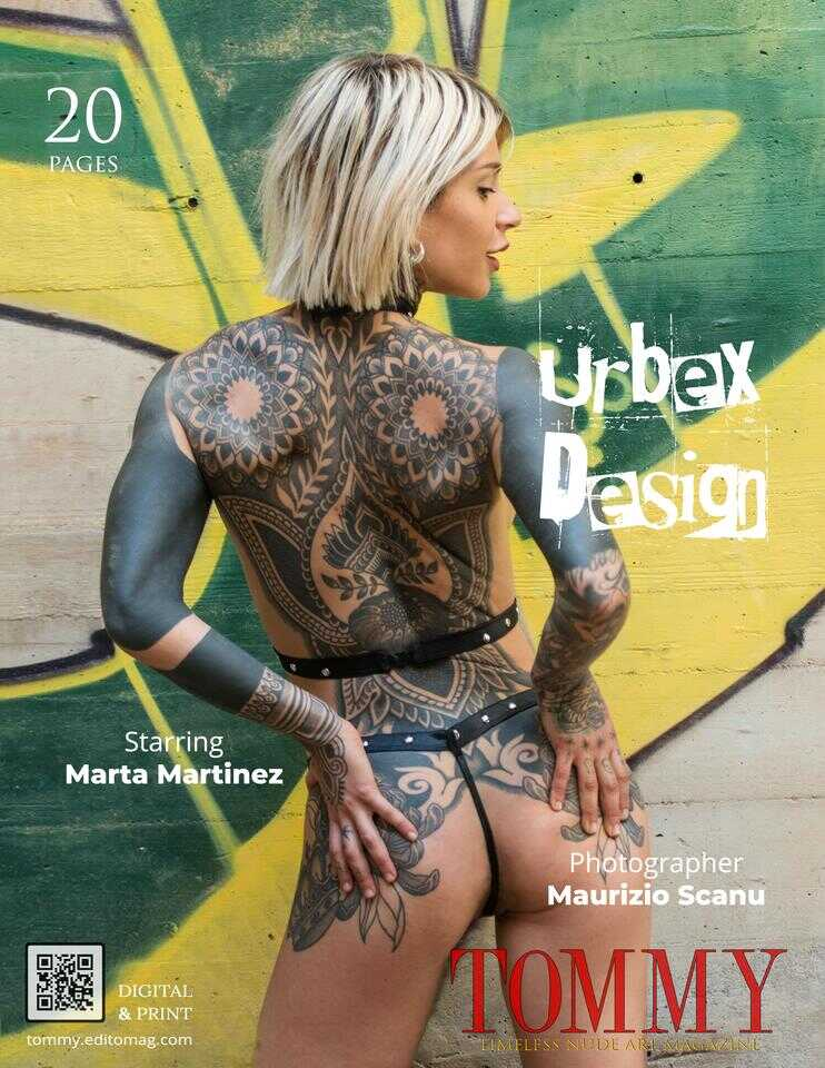 Back cover Marta Martinez - Urbex Design