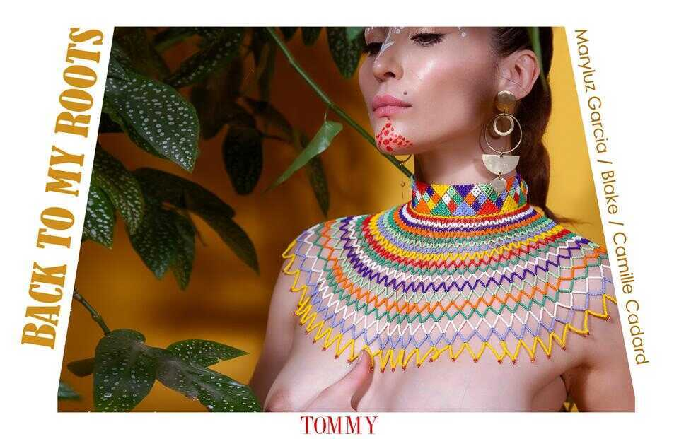Tommy Nude Art - Maryluz Garcia - Back to my roots - Blake