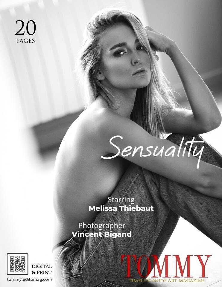 Back cover Melissa Thiebaut - Sensuality