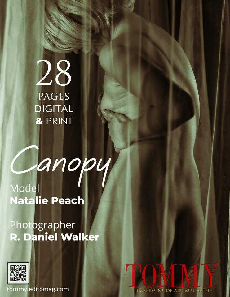 Back cover Natalie Peach - Canopy