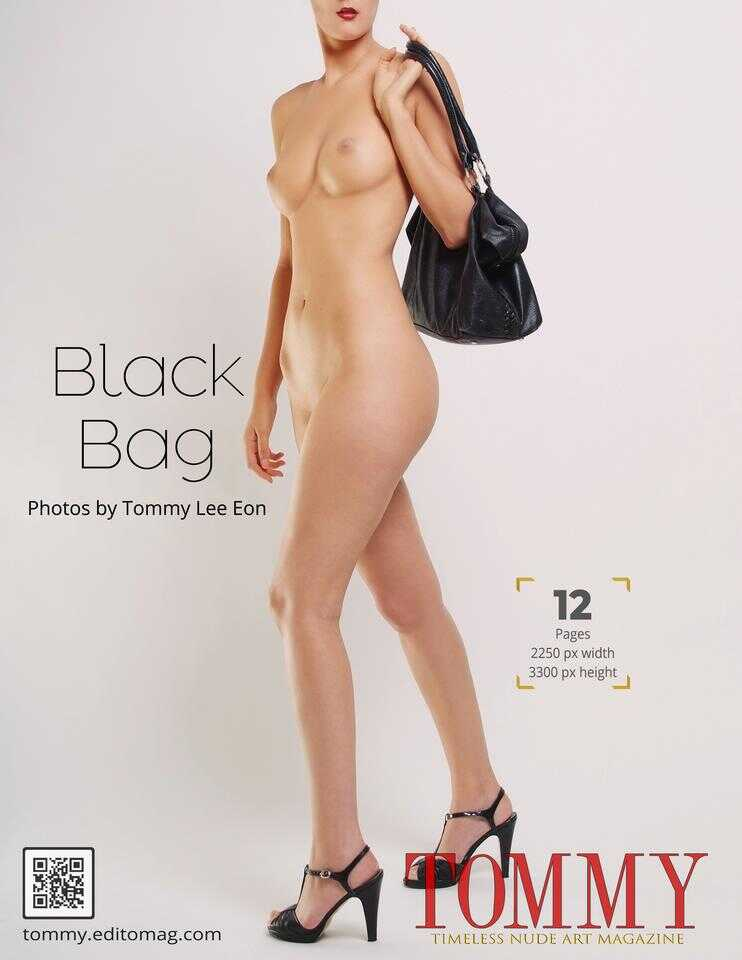 Back cover Tommy Lee Eon - Black Bag