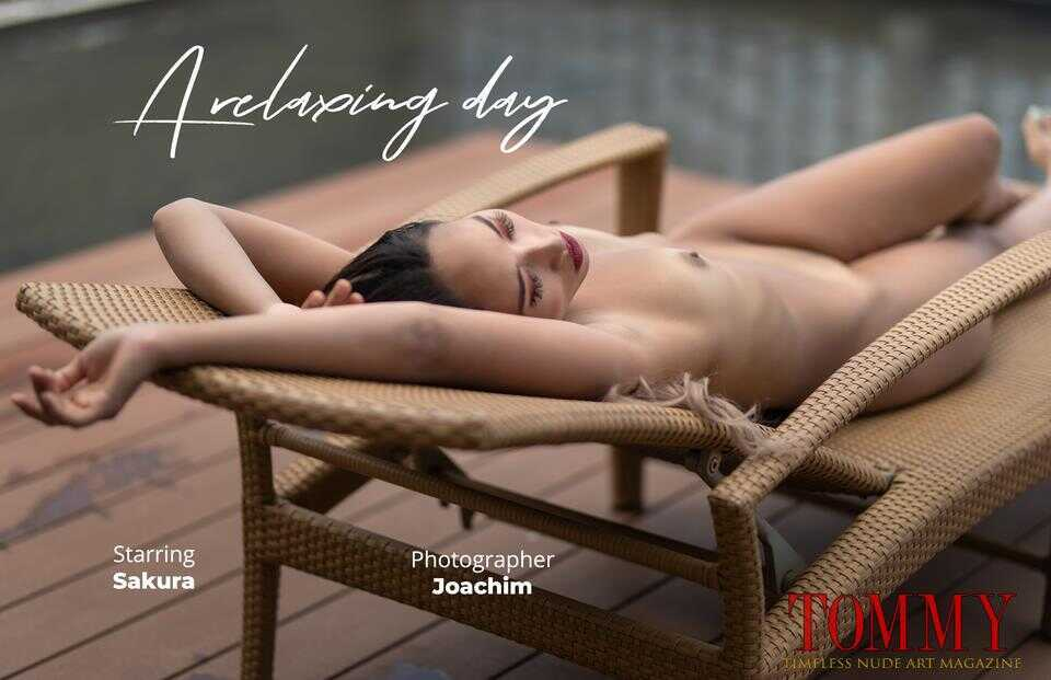 Tommy Nude Art - Sakura - A relaxing day - Joachim