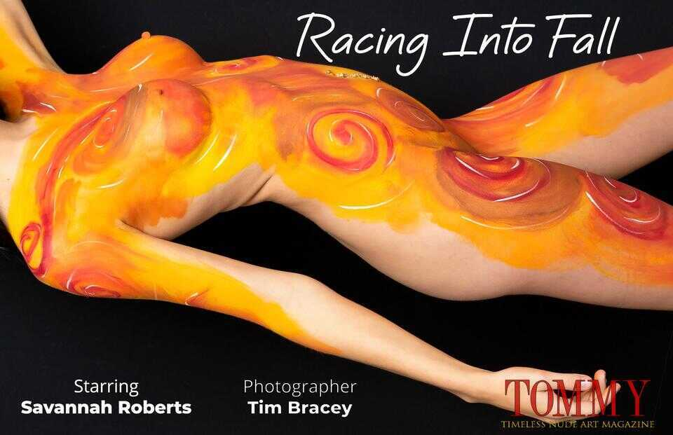 Tommy Nude Art - Savannah Roberts - Racing Into Fall - Tim Bracey