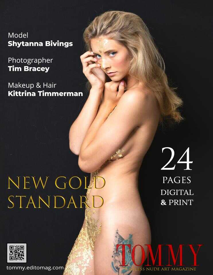 Back cover Tim Bracey - New Gold Standard