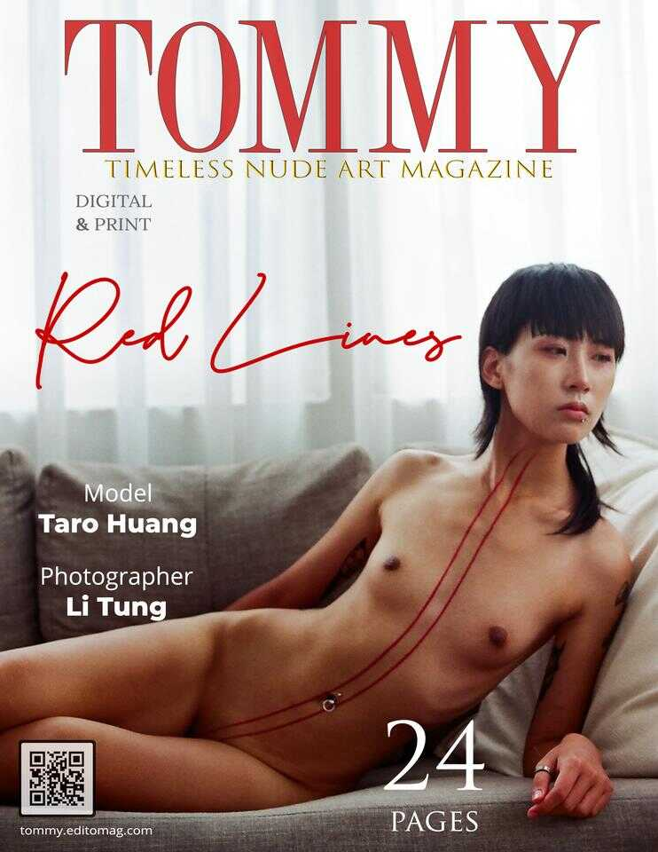 Cover Taro Huang - Red Lines