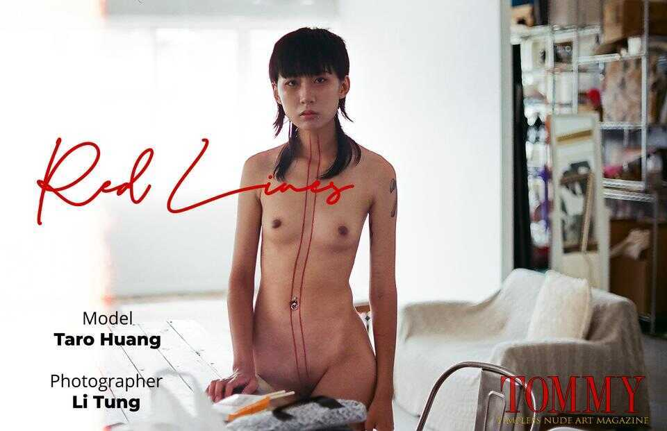 Tommy Nude Art - Taro Huang - Red Lines - Li Tung