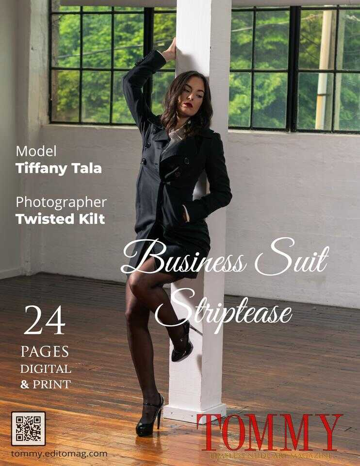 Back cover Tiffany Tala - Business Suit Striptease