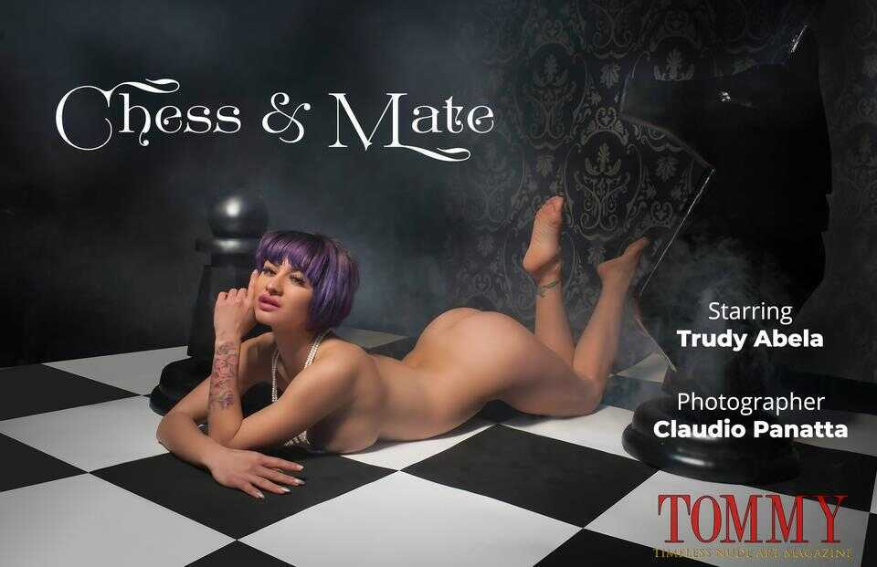 Tommy Nude Art - Trudy Abela - Chess And Mate - Claudio Panatta