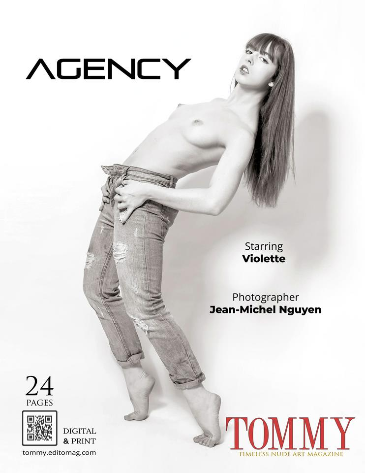 Back cover Violette - Agency